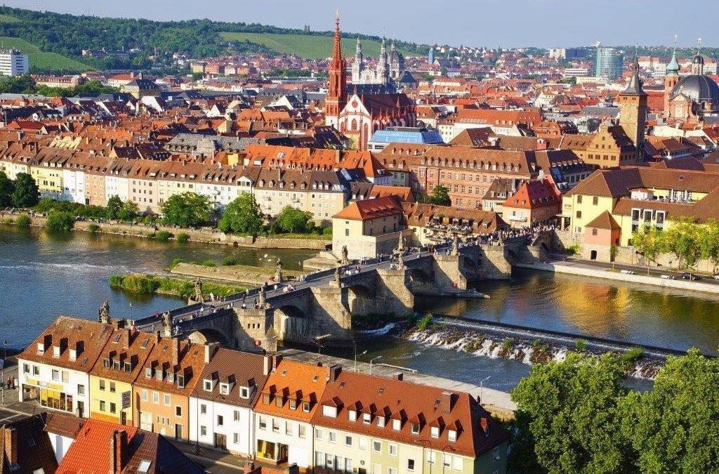 Tagen in Würzburg